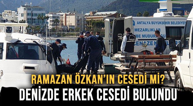 DENİZDE ERKEK CESEDİ BULUNDU! - Lider Gazete: Antalya Haber ve Antalya Spor  Son Dakika Haberleri
